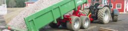 Univerzální traktorový návěs MetaX